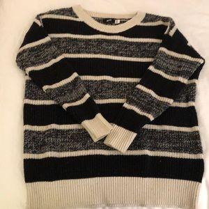 BDG Sweaters - BDG Rugby Stripe Boyfriend Sweater, size S